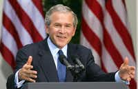 President and former Texas Gov. George W. Bush(File Photo/Getty Images)