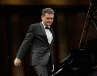 Yuri Favorin in the semifinal round of the Van Cliburn International Piano Competition, June 2, 2017, at Bass Performance Hall, Fort Worth.(Ralph Lauer/Van Cliburn Foundation)