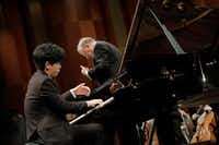 Pianist Daniel Hsu was among the slate of performers competing on Saturday.