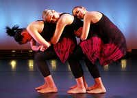 Members of Elledanceworks performed <i>Undercurrents</i> at a dress rehearsal at the Bath House Cultural Center in 2010.(File Photo/Staff)