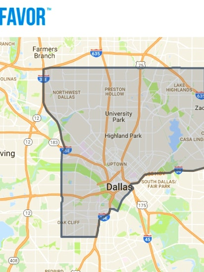Austin-based food-delivery service Favor discovers southern Dallas on