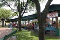 The outdoor Grapevine Farmers Market at the gazebo in the heart of historic downtown is open 8 a.m. to 4 p.m. Thursday through Saturday. On Saturday, they boost  the options with other vendors.(Kim Pierce/Special Contributor)