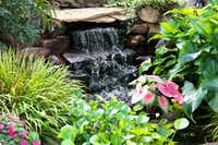 Kimberly and Ed Atchley's pond features two waterfalls.(Ron Baselice/Staff Photographer)