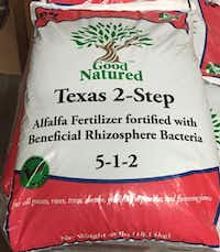 Good Natured is one of the best Texas-made organic fertilizer choices. (Howard Garrett)