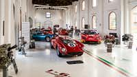 Ferrari Museum displays both classic and one-of-a-kind Ferrari cars.(Michael Hiller/Special Contributor)