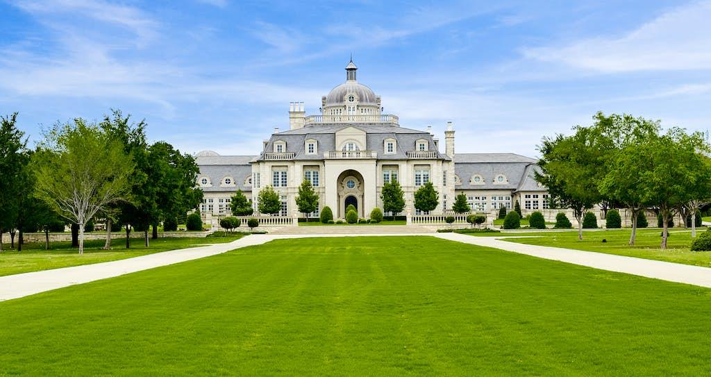 French Chateau Denton Texas