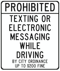 Some cities, like Denton, have had texting bans in place for a while.