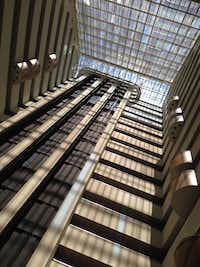 Downtown Dallas' Hyatt Regency probably has the most impressive of the local atriums.(Steve Brown/Staff)