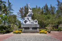 The memorial at My Lai where more than 500 villagers were massacred at the hands of U.S. forces in 1968.(Bruce N. Meyer)