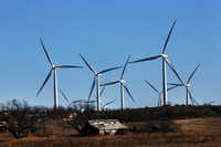 Wind turbines like these in Colorado City, Texas, provided 15 percent of the power on the ERCOT grid last year. (Getty Images)