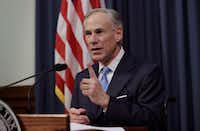 Gov. Greg Abbott announces that there will be a special session of the Legislature in July.(Eric Gay/The Associated Press)