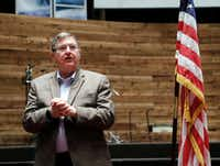 Lewisville Rep. Michael Burgess, an obstetrician and chairman of the House Energy and Commerce health subcommittee, helped craft the original AHCA.(Brandon Wade/Special Contributor)