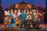 The cast of the national tour of 'Something Rotten,' which will be presented by AT&T Performing Arts Center at Winspear Opera House June 13-25, 2017.(Jeremy Daniel/ )
