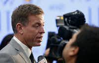 Troy Aikman is United Way's incoming campaign chair.(Jae S. Lee/Staff Photographer)