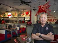 <br>(<p></p><p>Owner Ed Murph at the new location of Norma's Cafe in Plano on Friday, June 9, 2017. (Ryan Michalesko/The Dallas Morning News)</p><p></p>)