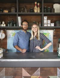 "<p><span style=""font-size: 1em; background-color: transparent;"">Nick Mosley and Ryann Ford, co-owners of Townsend Provisions in Round Top</span></p>(Townsend Provisions)"