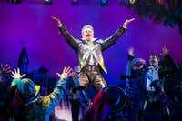 Adam Pascal plays Shakespeare as a playwright with rock star status. (Jeremy Daniel)