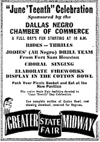 This advertisement was published on June 18, 1947 in The Dallas Morning News.( /Dallas Morning News)