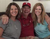 From left: Karen Knight, Don Knight and Kimberly Watts.(Contributed by Kimberly Watts)