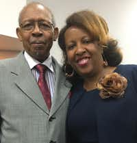 "Shay Cathey with her father, Ernest ""Deacon"" Wyrick(Contributed by Shay Cathey)"