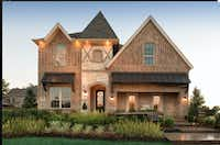 "Toll Brothers builds more than 300 luxury single-family homes a year in North Texas, including this $750,000 ""country manor"" house in Coppell.(Toll Brothers)"