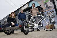 <p>Local Hub owner Kristie Holt said she'd like more people to experience cycling in Dallas, whether through bike share programs or rentals.</p>(Ben Torres/Special Contributor)