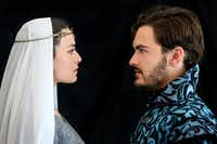 "<p> Kelsey Milbourn and Montgomery Sutton in Trinity Shakespeare Festival's <em style=""font-size: 1em; background-color: transparent;"">Measure for Measure </em><span style=""font-size: 1em; background-color: transparent;""> at the Buschman Theatre on the campus of Texas Christian University in Fort Worth through July 2. </span></p><p></p>(Amy Peterson)"