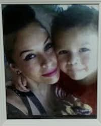 Maria Isabel Romero Medina with her son, Ricardo Alekzander Lara.