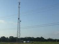 <p>Ray Leszcynski The tower at 8491 Schrade Road in Rowlett is one of nine in position for the changeover of the public safety radio operations for the cities of Garland, Mesquite, Rowlett and Sachse. </p><p><br></p>(<p><br></p><p></p>/Ray Leszcynski)