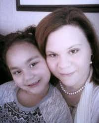 April Vancleave and her 6-year-old daughter, Lilly(Courtesy photo)
