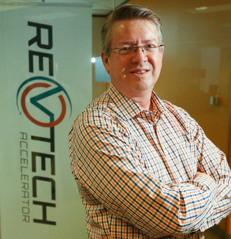 David Matthews, managing director of RevTech accelerator, recently moved to a North Dallas office building. He's turning it into a co-working space where he hopes retail veterans and startups come up with innovative ideas for the industry. (Ron Baselice/The Dallas Morning News)