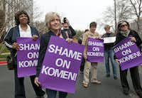 The Planned Parenthood episode engulfed the Komen foundation in controversy.(2012 File Photo/Rex C. Curry)
