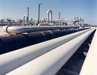 """Perry suggested that America's growing network of crude oil pipelines could be a """"form of storage"""" for the U.S. President Donald Trump's proposal to sell nearly half the U.S. emergency oil stockpile is sparking renewed debate about whether the Strategic Petroleum Reserve is still needed amid an ongoing oil production boom that has seen U.S. imports drop sharply in the past decade.(Department of Energy/The Associated Press)"""