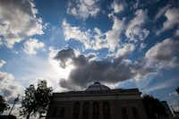 The Eagle's Nest Cathedral on Sunday in Dallas. (Ryan Michalesko/Staff Photographer)