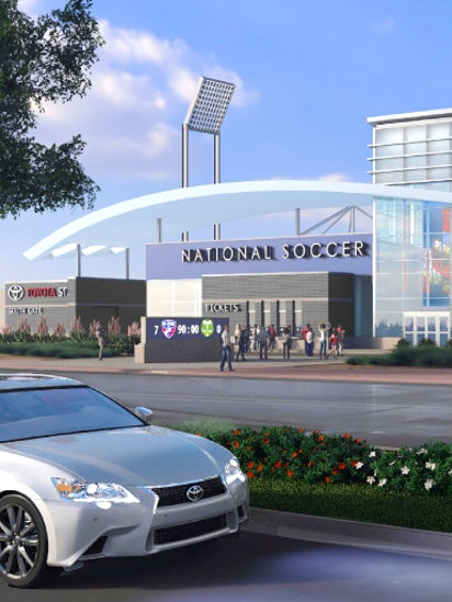 Toyota Stadium Renovations New Soccer Hall Of Fame Again Millions Over Budget But That S Ok