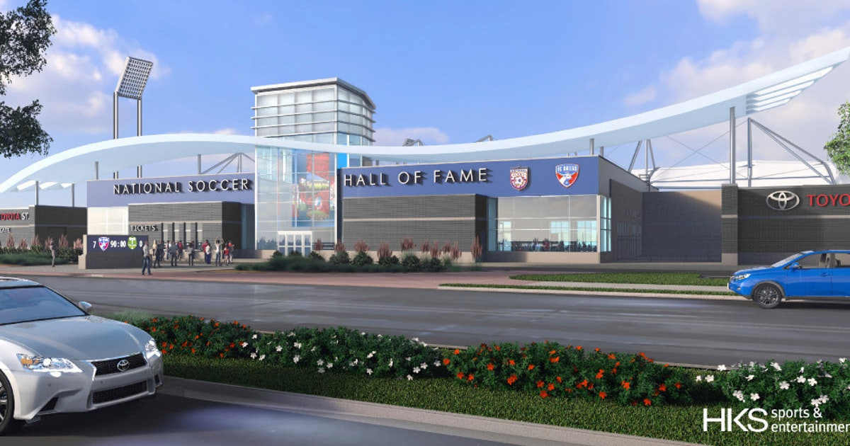 Toyota Stadium Renovations New Soccer Hall Of Fame Again Millions Over Budget But That S Ok Frisco Dallas News