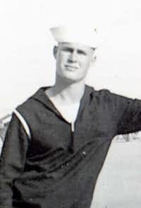George Coke Jr. was a Navy seaman 1st class. (Courtesy photo)