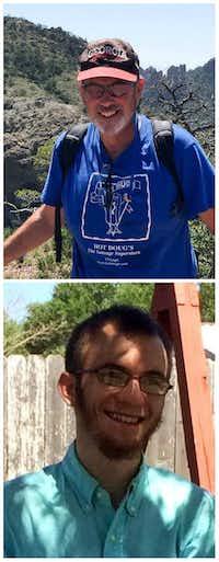 Robert Stuart Pluta (top) and Robert Neal Pluta(Facebook)