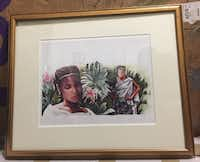 "John Steptoe's artwork for the book ""Mufaro's Beautiful Daughters"" will be on display at Dallas Children's Theater during the run of a play based on the book. (Courtesy of Bweela Steptoe)"
