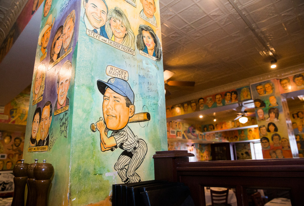 See Dozens Of Dallas National Celebs Caricatures That Grace The Palm Restaurant S Wall People News