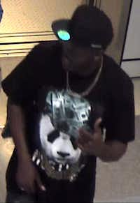 Police say this man is a person of interest in the case.<br>(<br>/Irving Police Department<br>)