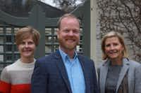 Lori Feathers, Jeremy Ellis and Nancy Perot of Interabang Books(<u>Jake Harris</u>)