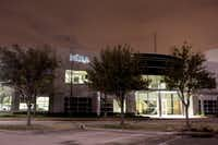 The offices of Infosys, the giant Indian outsourcing company, in Plano, Texas. (Brandon Thibodeaux/The New York Times)