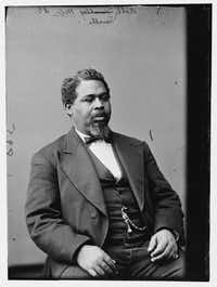 Robert Smalls served five terms as a U.S. representative from South Carolina.(Library of Congress/St. Martin's Press)