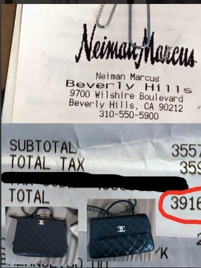 65c18c12bfd869 If Neiman Marcus shipped you $40,000 worth of handbags by mistake, what  would you do?
