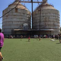 The yard at Magnolia Market at the Silos in Waco.(Maria Halkias/Maria Halkias)