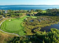 Bay Harbor Quarry at Bay Harbor Golf Club in Michigan (Bay Harbor Golf Club)