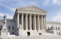This Jan. 25, 2012, file photo, shows the U.S. Supreme Court Building in Washington.(J. Scott Applewhite/AP)