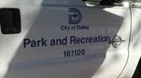 A City of Dallas Park and Recreation department truck in downtown Dallas on Feb, 21, 2017.(Irwin Thompson/Staff photographer)