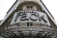 View of a Nordstrom Rack store, an outlet branch of the US-American department store chain Nordstrom, on the 12th Street on Feb. 3, 2017 in Washington, D.C.(Vanessa Kockegei/TNS)